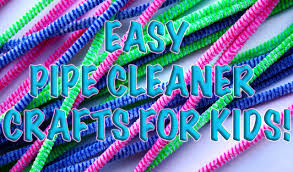 diy how to make 4 unique homemade creative pipe cleaner crafts