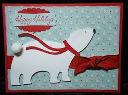hiding in my craft room polar card joys of season