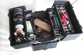 bridal makeup box make up box tour my freelance kit