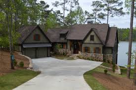 narrow lot lake house plans lakeside home plans luxury single story lake house plans home deco