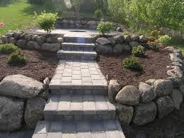 Build Paver Patio Before And After Landscaping Projects In St Michael Monticello