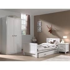 meuble blanc chambre lewis meuble de chambre 3 pièces blanc achat vente chambre