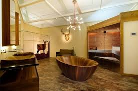 beautiful wooden bathroom designs