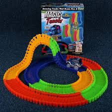 as seen on tv light up track light up car track race car track glow in the dark track with light