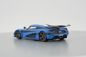 koenigsegg one 1 blue 1 43 koenigsegg one 1 1 43 frontiart model co ltd