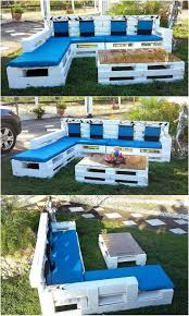 Outdoor Furniture Made From Pallets 60 Pallet Ideas For Garden And Outdoors Diy Motive