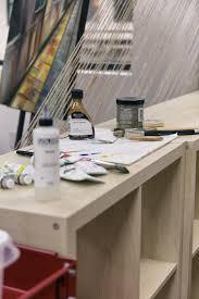 Art Studio Desk by Smart Space Studios Art Studio Space Rental