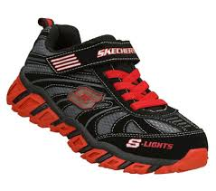 skechers red light up shoes light up shoes for boys from skechers