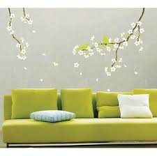 decorating colorful flower petals decoration for lively wall art