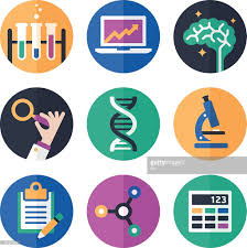 science symbols and icons vector art getty images