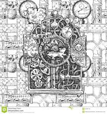 images of steampunk 2d sketches by sc