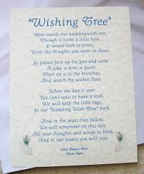 wedding wishes board wish tree sign wedding wishing tree card for wish tags