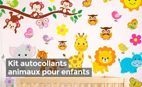 sticker pour chambre stickers animaux chambre bb stickers palace sticker mural en vinyle