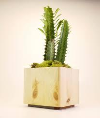 modern plant pots unique rectangular planter modern planter wooden pots for
