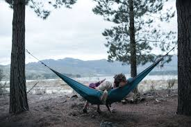 Cocoon Hammock Camping Buy Hiking Camping Online In India Hammock Basic Blue Quechua