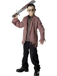 scary halloween costumes for boys friday the 13th jason voorhees teen costume wholesale tv u0026 movie
