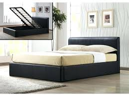 Bed Frames For King Size King Size Storage Bed Happyhippy Co