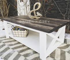 Diy Coffee Tables by Rustic Coffee Table Ana White Diy Coffee Table Farmhouse