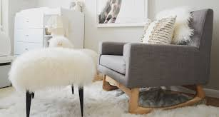 Grey Nursery Rocking Chair Small Nursery Ideas To Make The Space Looks Bigger I Décor Aid