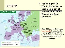 Who Coined The Phrase The Iron Curtain The Cold War 1945 U2014a Critical Year As The End Of World War Ii