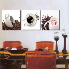 kitchen modern art aliexpress com buy 3 panel canvas art coffee kitchen modern