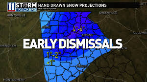 Montgomery County Snow Removal Map Don U0027t Worry This Will Not Be Snow Jam 11alive Com