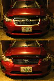 subaru impreza sport subaru impreza sport mesh grill vs stock tell me what you guys