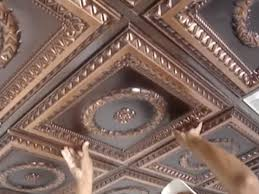 ceiling design beautiful faux tin ceiling tiles in brown for