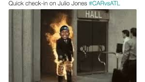 Funny Panthers Memes - 10 funniest tweets about julio jones destroying the panthers 12up