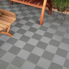 blocktile flooring perforated interlocking tiles 30 pack hayneedle