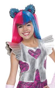 monster high frankie stein child halloween costume monster high wigs girls halloween fancy dress kids childs costume