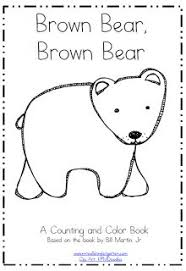 free coloring pages brown bear printable mini book wills