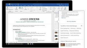 How To Use On Error Resume Next Linkedin Introduces Resume Assistant For Microsoft Word Here U0027s