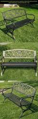 Metal Garden Table And Chairs Bench Iron Patio Furniture Set Wonderful Cast Iron Outdoor Bench