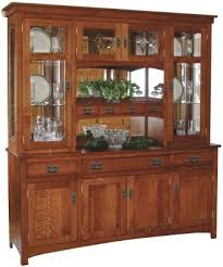 our americus garden china hutch is a large mission style china