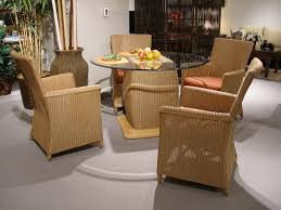 dining room cream rattan dining chairs for modern dining room decor