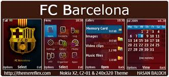 simnuvajne themes nokia c2 05 requested theme fc barcelona theme for nokia x2 00 c2 01 2700 x2
