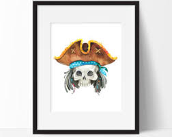 Pirate Bathroom Decor by Pirate Etsy