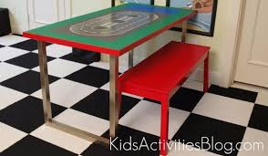 Legos Table How To Build A Lego Table Kids Activities