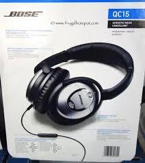 black friday bose headphones costco sale bose qc15 acoustic noise cancelling headphones