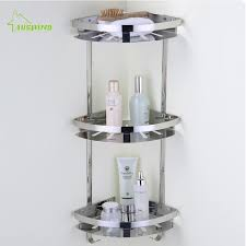 Corner Shelving Bathroom Bathroom Shelf Rack Wall Mounted Hanging Wall Triangular Frame