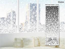 885101 solarbright decorative floral print film for glass partitions