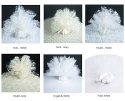 tulle bags scalloped tulle 25 pcs favor bags favor packaging