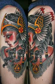 tattoos by stefan johnsson valkyrie
