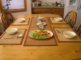Dining Table With Food Better Dining With A Table Runner Shoppersbase
