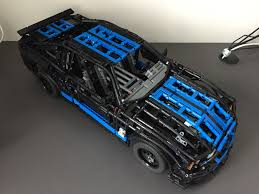 lego ford mustang lego moc 1180 ford mustang shelby gt500 rc technic 2013