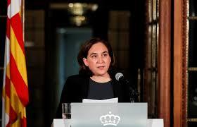 katalonien barcelonas bürgermeisterin spricht sich gegen