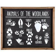 hobbylobby com animals of the woodlands wood wall decor hobby lobby 1469501
