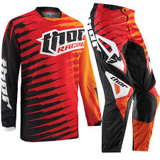 jersey motocross thor phase 2015 vented youth rift red junior kids mx pants jersey