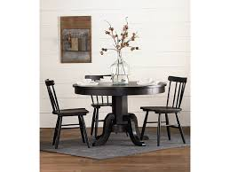 round table corning ca magnolia home by joanna gaines traditional gatherings round pedestal